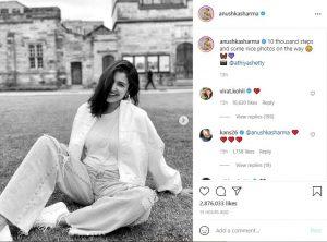 Anushka Sharma shares photos from England Tour
