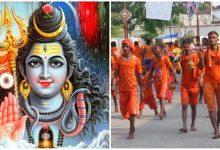 Lord Shiva devotees celebrate Bol Bom Yatra in Shravan Month