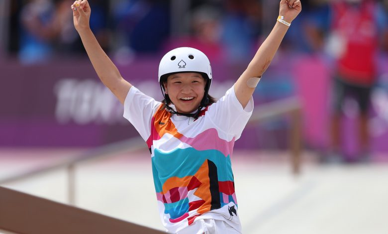 Momiji Nishiya becomes Japan's youngest gold medalist