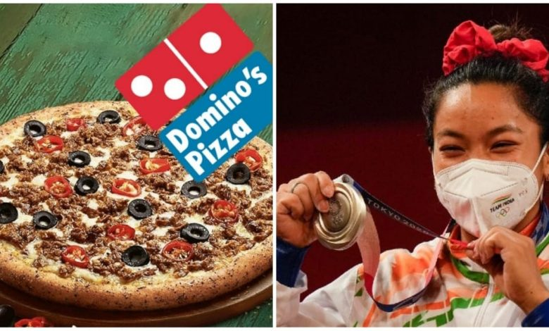 Dominos India announces Free Pizza for life to Mirabai Chanu