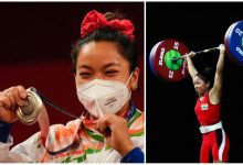India's Mirabai Chanu wins women's 49 kg category weightlifting at Olympics, 2020 in Tokyo