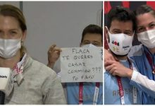 Coach Proposes To Argentine Fencer At Olympics