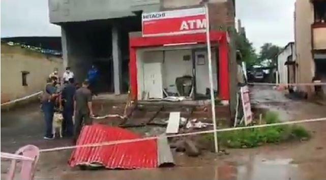 Burglars make blast at ATM in Pune, flee with Rs 28 lakh