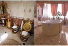 Gold toilet found in Russian police's mansion