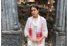 Sara Ali Khan visiting Kamakhya temple
