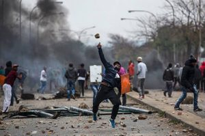 South Africa's Ex-President Zuma's supporters