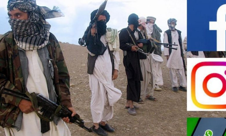 Facebook ban content published by Taliban regarding terror in Afghanistan