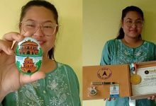 Sivasagar Girl Elibha Buragohain sets her name in India Book of World records