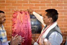 Public Toilet inaugurated by Ashok Singhal in Ganeshguri