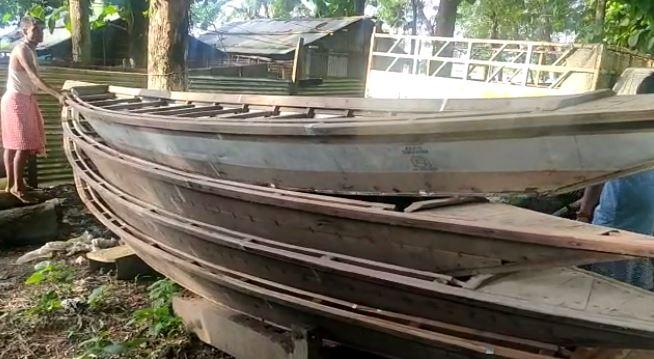 Police seized boat in Boko