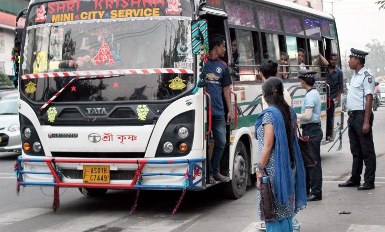 Bus fare hike in Assam