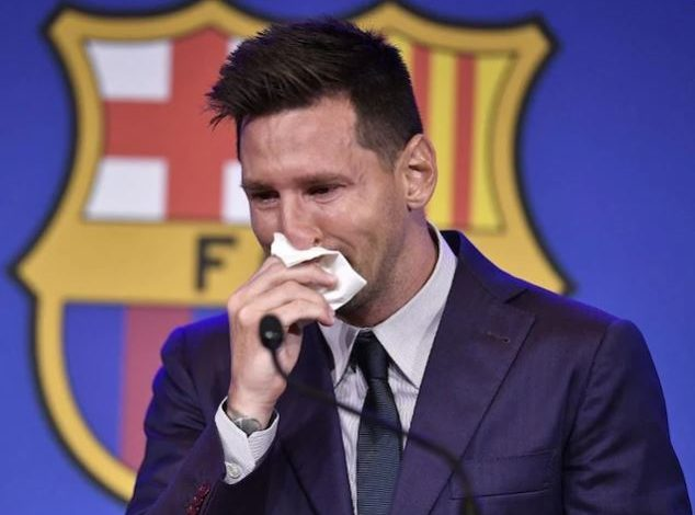 Lionel Messi's priceless tears ready to be sold! The tissue paper with which you wipe the price will surprise you