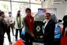 Olympic medal winner Lovlina Borgohain gets awarded a Renault Kiger compact SUV