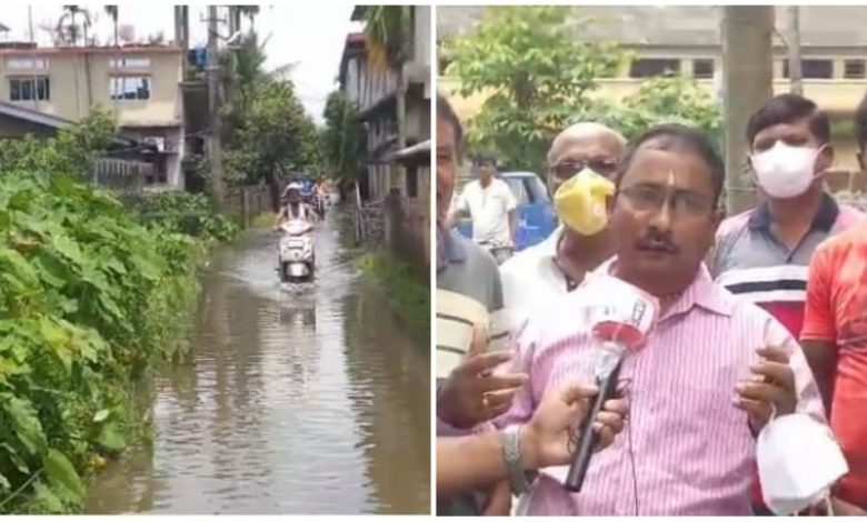 People of Nagaon have been facing problems due to flood
