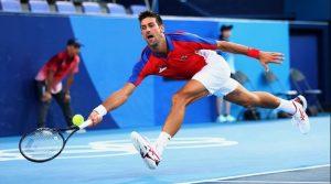 Novak Djokovic Smashes Racquet