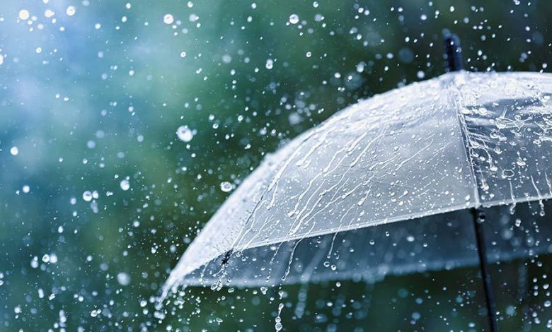 Rain in North- East