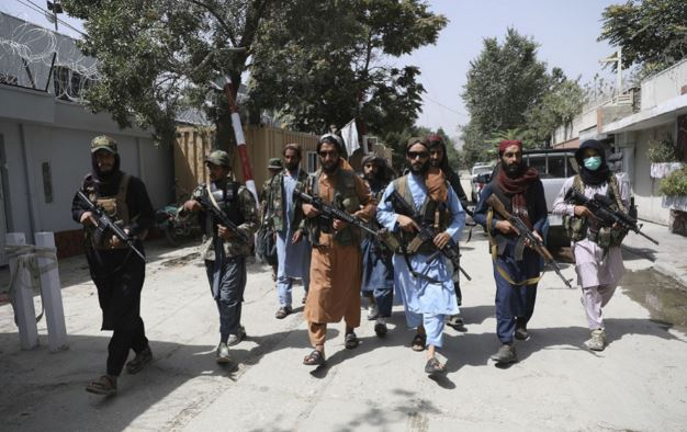 American weapons are now in Taliban's hands