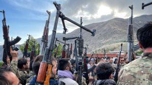 Talibani in Panjshir valley