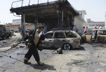suicide bomber attack in Jalalabad
