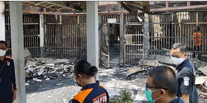 Indonesian jail fire kills 41 inmates