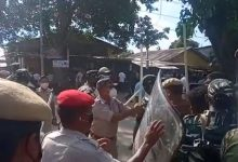 Protest on majuli accident